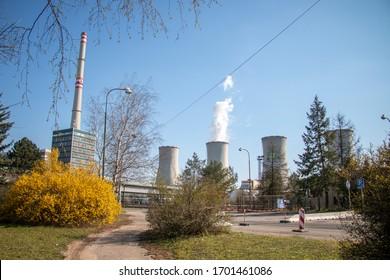 Czech coal power plant Chvaletice