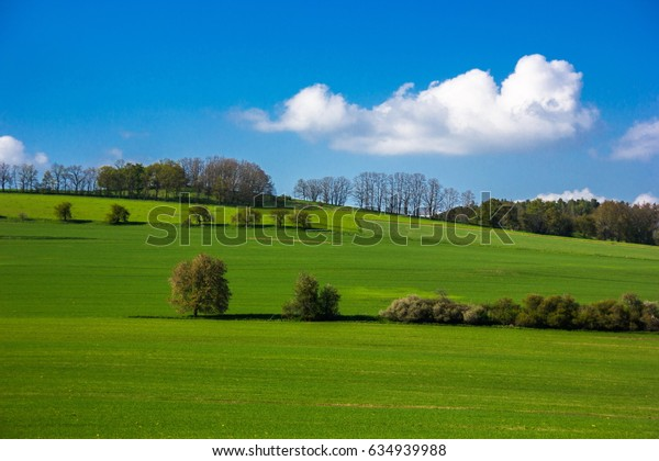 Czech countryside landscape
