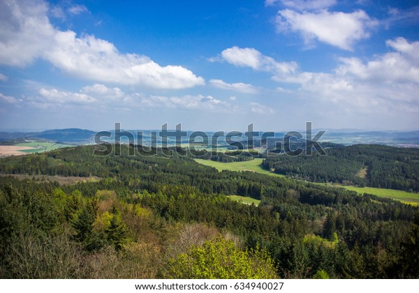 Czech countryside landscape