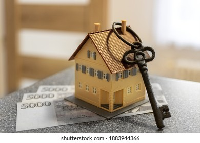 Czech economy and finance - realty estate business - buying a new house or flat - czech money - Shutterstock ID 1883944366