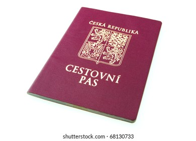 Czech passport.