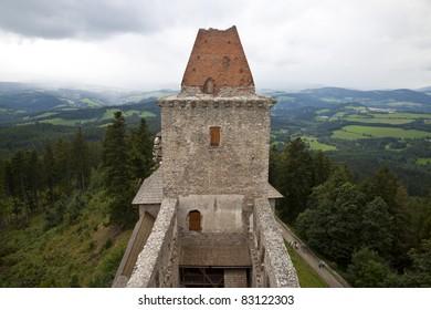 Czech Republic, Kashperski Gori Castle Kašperk