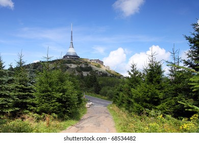 Czech Republic - Liberec - transmitter Jested