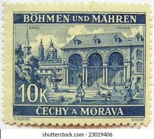 Czech Republic mail postage stamps