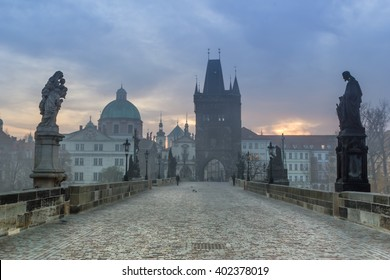 Czech Republic, Prague, The Charles Bridge