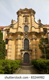 Czech Republic, Prague. Walking through the streets.Buildings and architecture of the city