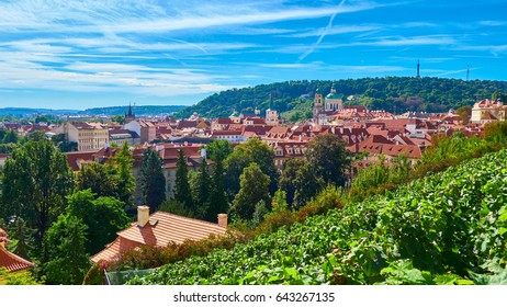 Czech Republic. September 29, 2016. Beautiful views of Prague.