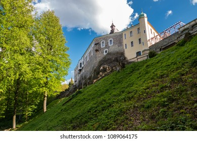 CZECH REPUBLIC, ZBIROH - APRIL 26, 2018: Neo-renaissance castle Zbiroh near Pilsen, Czech republic.