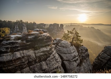 Czech Saxon Switzerland Nature Travel Tourism rocks - Shutterstock ID 1489758272