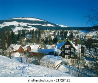 Czech ski center Spindleruv mlyn