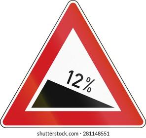 Czech warning sign about decline of 12 Percent.