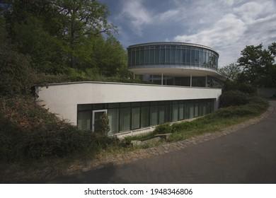 Czechoslovakian pavillon in Letna, Prague - Shutterstock ID 1948346806
