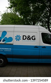 D & G Company Van At Amsterdam THe Netherlands 2019D & G Company Van At Amsterdam THe Netherlands 2019