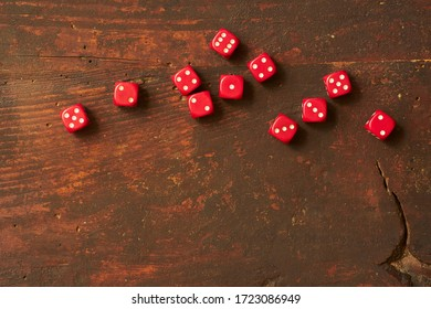 D30 D20 D12 D10 D8 D6 Gaming dices closeup on white background isolated  white background Leaves Dark Background cool Roleplaying Tabletop