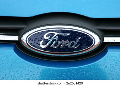 Ford logo images stock photos vectors shutterstock da lat viet nam july 19 2014 ford logo it was voltagebd Gallery