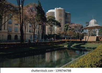 Praça da Liberdade/Liberty Square, in Belo Horizonte, Minas Gerais, Brazil.