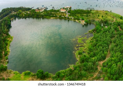 Da Nang, Vietnam: Ho Xanh (Green Lake)  which is a very famous destination for the couples in their wedding.