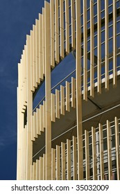 Da Vinci, a combination of living, parking and shops in artful surroundings, in Alphen aan den Rijn, Netherlands.  Architects: VHP.
