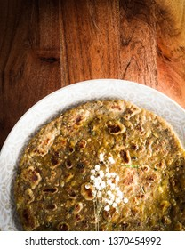 Daal wali roti - chapati made with daal/lentils