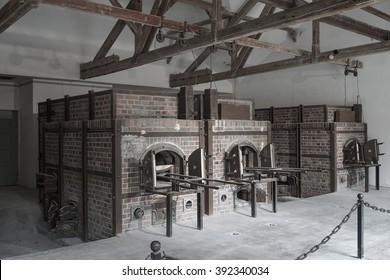 Dachau Concentration Camp - Crematorium
