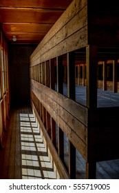 Dachau Concentration Camp Memorial Site Bunk beds