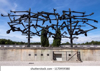 Dachau. Germany. 08.03.16. Dachau concentration camp. The first Nazi concentration camp opened in Germany. There were 32,000 documented deaths at the camp. Many thousands more are undocumented.
