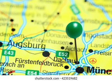 Pirmasens Pinned On Map Germany Stock Photo Edit Now 423963031