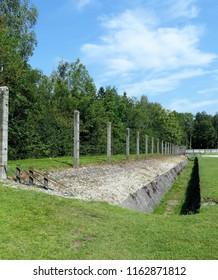 Dachau, State of Bavaria/Germany - July 2018 Dachau in Color and Greenery