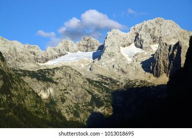 Dachstein glacier in Austria