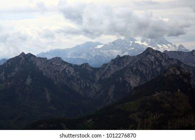 Dachstein mountain in winter
