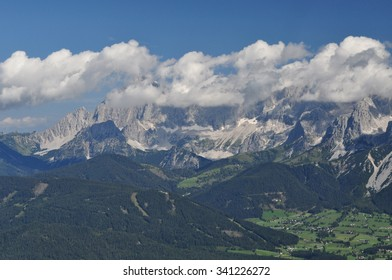 The Dachstein Mountains are a mountain range in the Northern Limestone Alps.