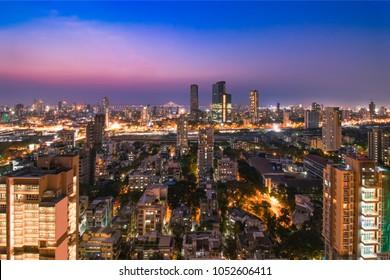 Dadar skyline, Mumbai, India.
