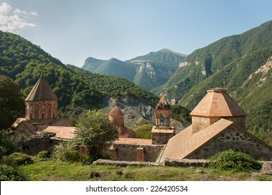 Dadivank is an Armenian monastery in the Nagorno-Karabakh Republic. It was built between the 9th and 13th century.