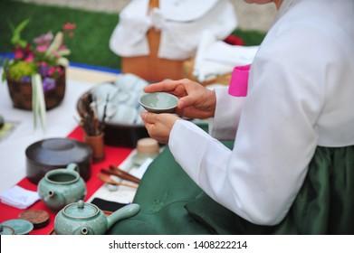Dado - Korean traditional tea ceremony