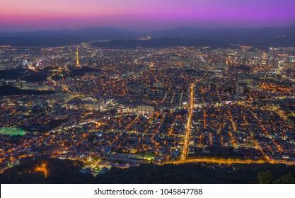 Daegu by night - South Korea