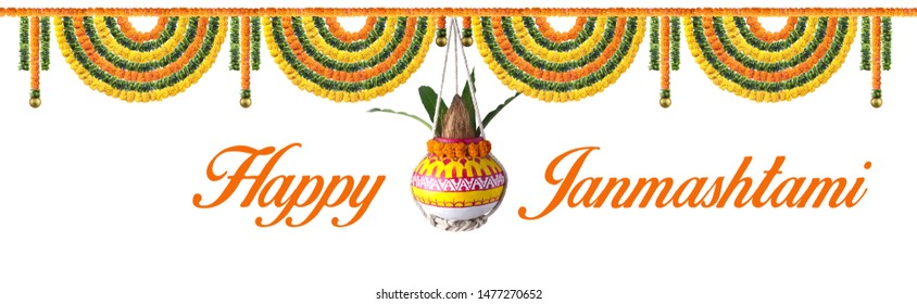 dahi handi, dahi handi celebration in Happy Janmashtami festival background of India, Happy Janmashtami