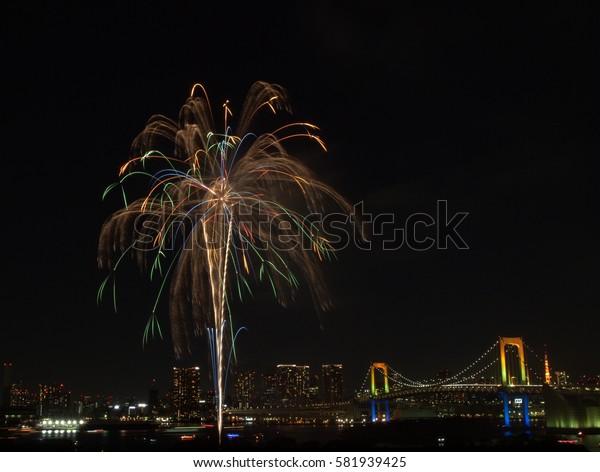 daiba fireworks