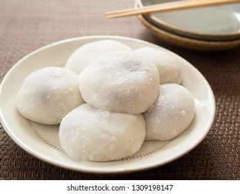 Daifuku Mochi Red Bean Rice Cake