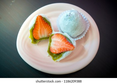 Daifuku was originally called Habutai mochi  Daifuku were gaining popularity and people began eating them toasted. They were also used for gifts in ceremonial occasions