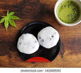 """Daifuku"" is sweets in Japan. ""Daifuku"" is a rice cake stuffed with sweet filling like red bean paste."