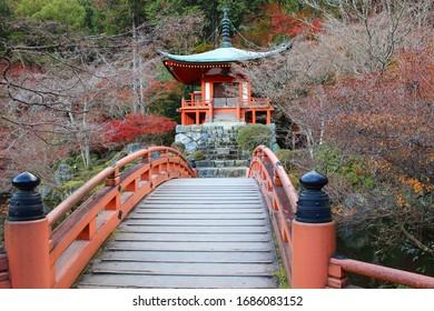 Daigo-ji Temple in Kyoto, Japan.