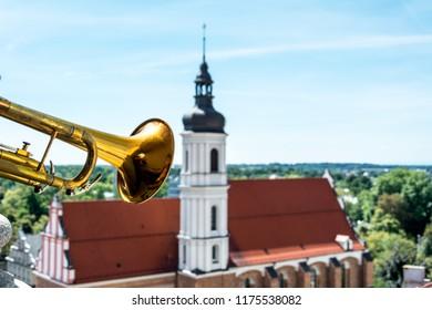 Trumpet Herald Images, Stock Photos & Vectors | Shutterstock