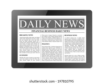 daily news tablet computer