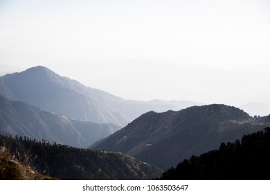 Dainkund peak at Dalhousie, Himachal pradesh, India