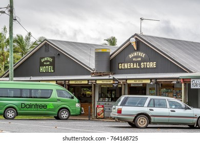 Daintree, Queensland, Australia, 5-1-16, Daintree river Hotel and General Store