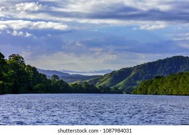Daintree River Landscape, Daintree National Park, Queensland, Australia