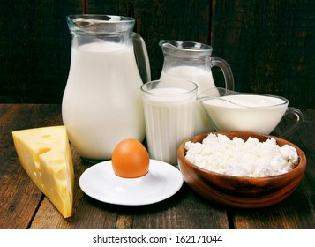 Dairy products.