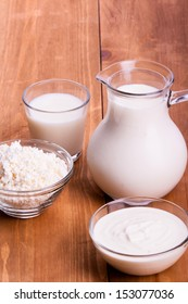 Dairy Products Include Milk And  Cheeses And Cream