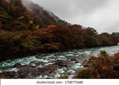 the daiya river runs through Nikko, north of Tokyo in the Tochigi district