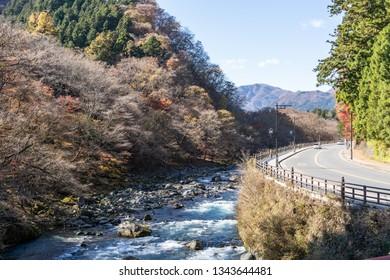 Daiya River view from Shinkyo Bridge